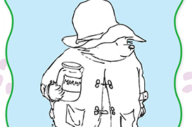 Paddington Colouring Sheet