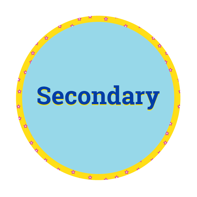 Disc saying secondary
