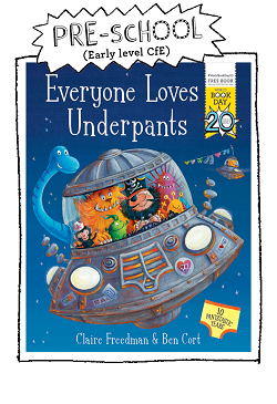 Book cover for Everyone Loves Underpants