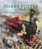 Book cover for Harry Potter and the Philosopher's Stone (Illustrated Edition)