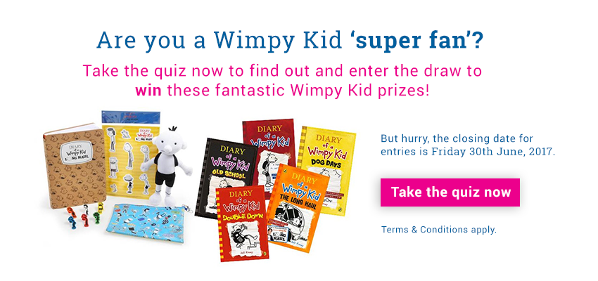 Are you Wimpy Kid 'super fan'?