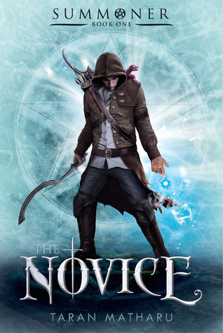 Book cover for The Novice