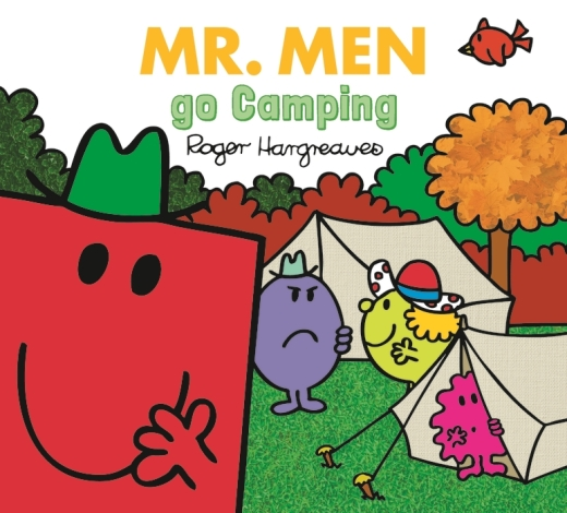 Book cover for Mr. Men Go Camping