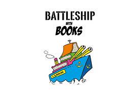 battleship with books