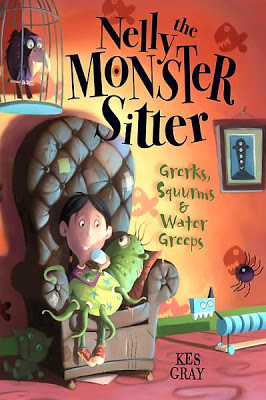 Book cover for Nelly the Monster Sitter: Grerks, Squurms & Water Greeps