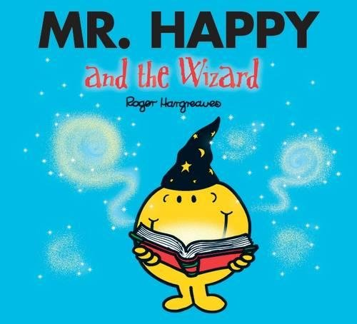 Book cover for Mr. Happy and the Wizard
