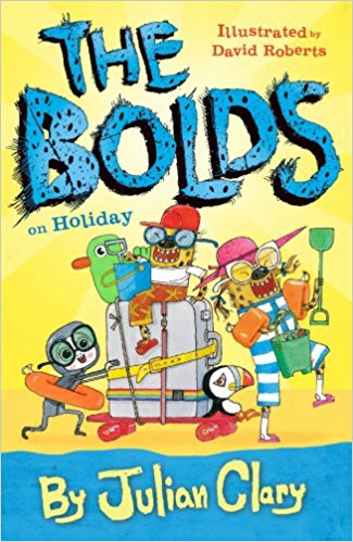 Book cover for The Bolds on Holiday