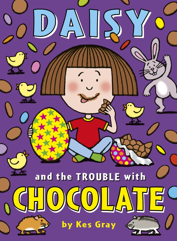 Book cover for Daisy and the Trouble with Chocolate
