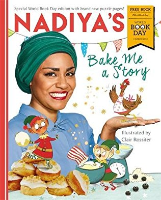 Book cover for Nadiya's Bake Me a Story