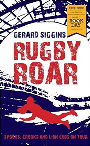 Book cover for Rugby Roar