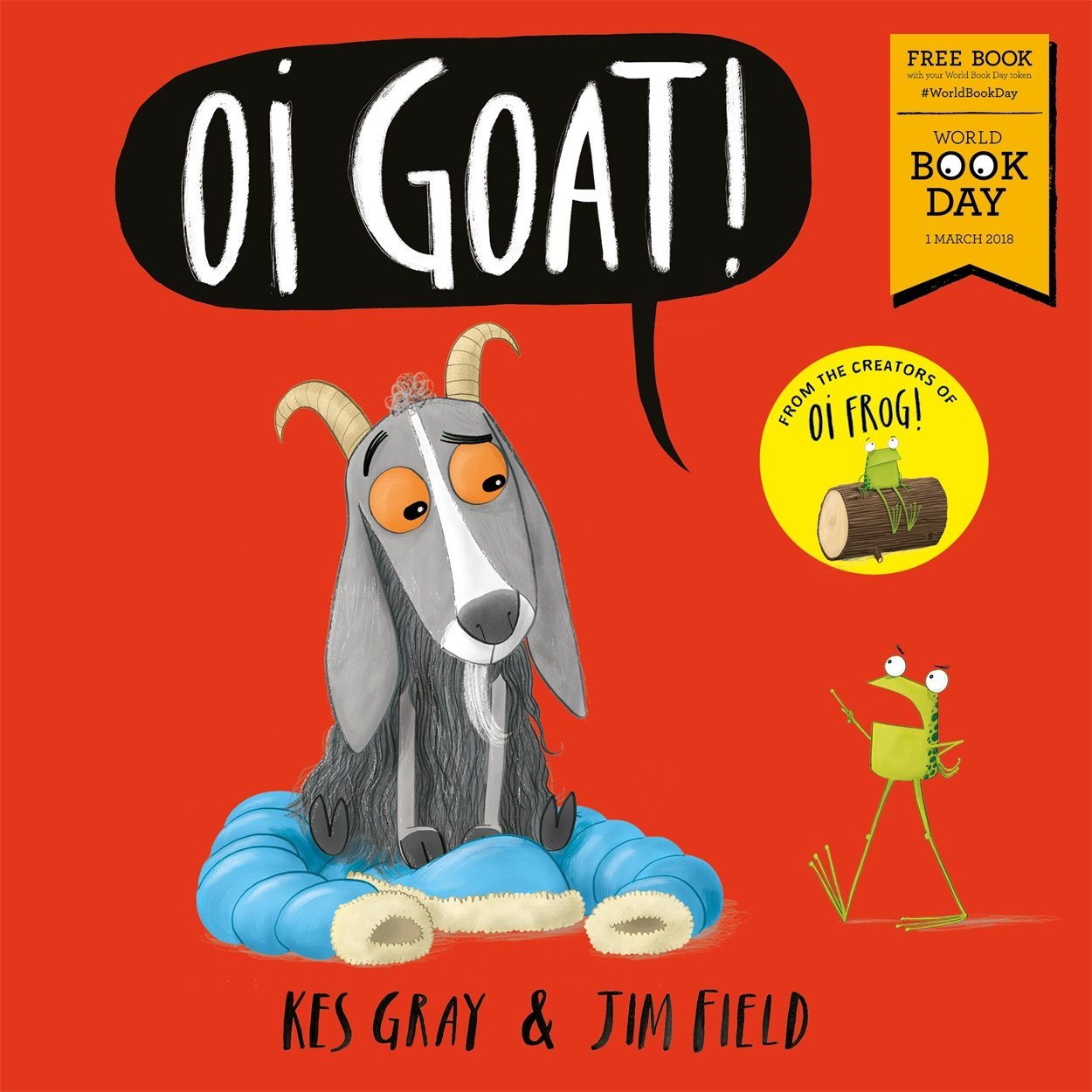 Book cover for Oi Goat!