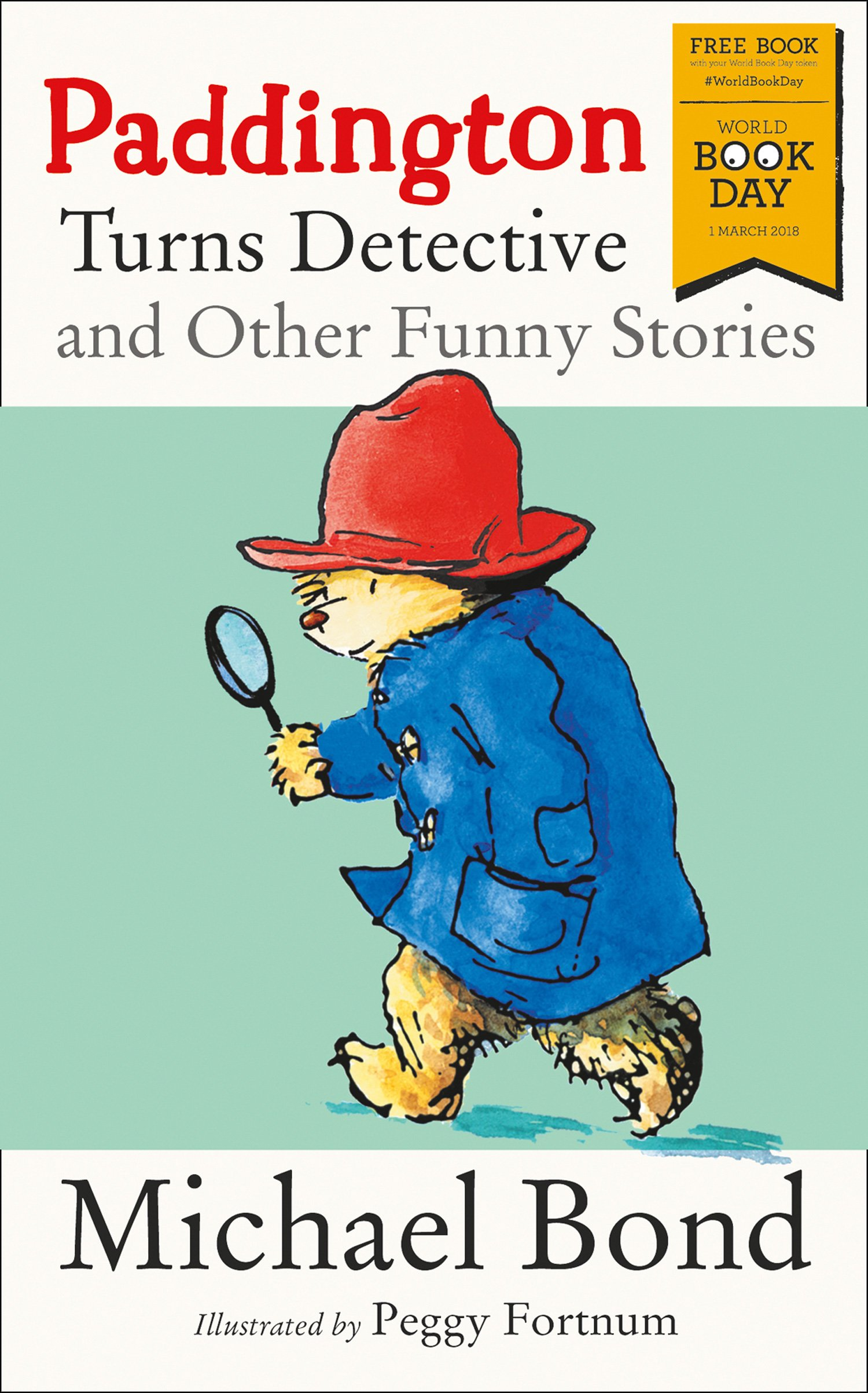 Book cover for Paddington Turns Detective and Other Funny Stories