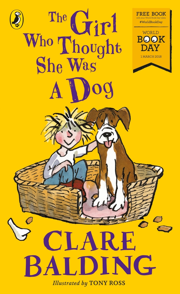 Book cover for The Girl Who Thought She Was a Dog