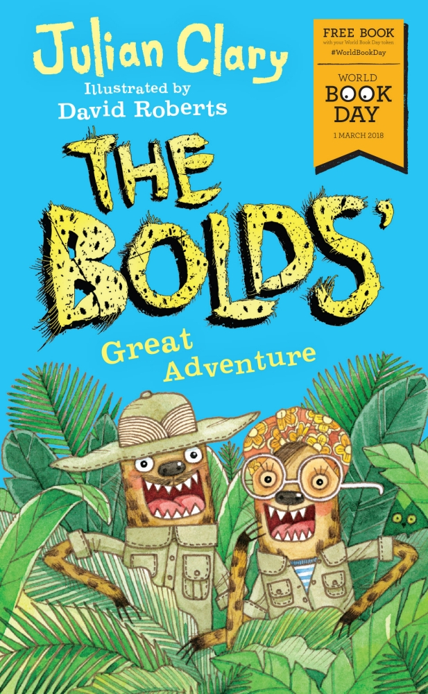 Book cover for The Bolds' Great Adventure