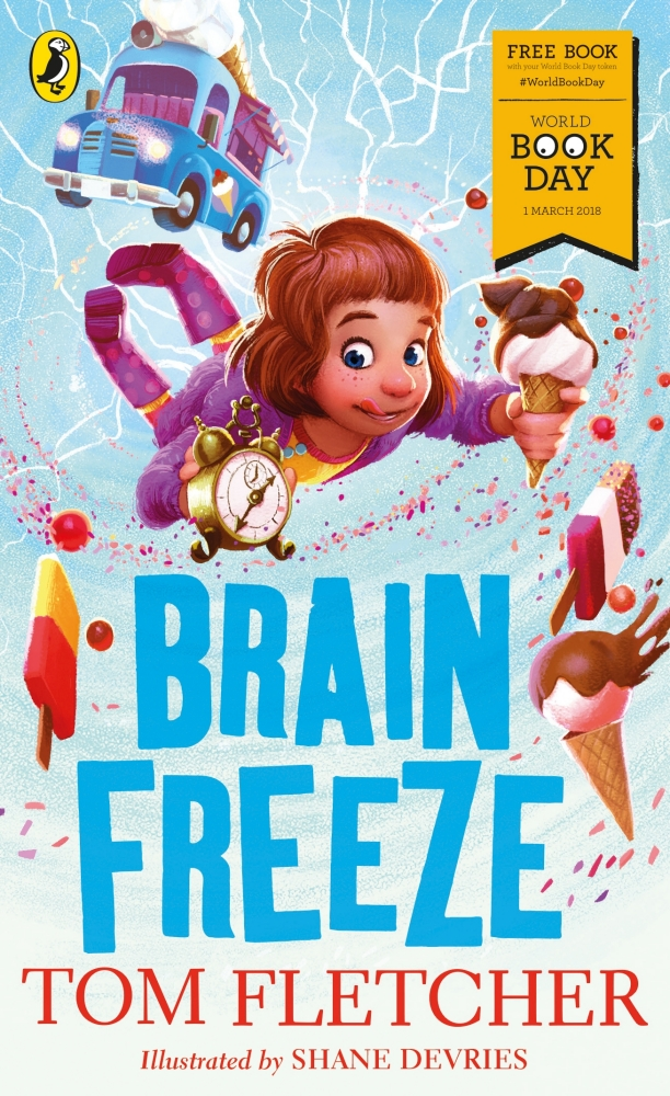 Book cover for Brain Freeze