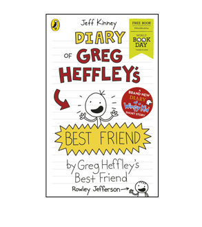 Book cover for Diary of Greg Heffley's Best Friend