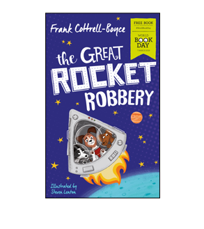 Book cover for The Great Rocket Robbery
