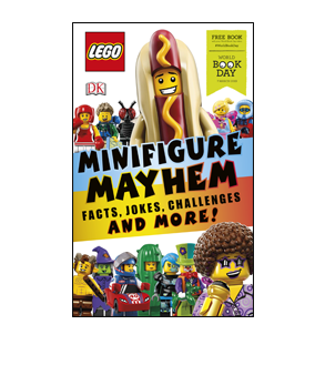 Book cover for LEGO Minifigure Mayhem