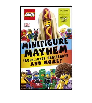 Book cover for LEGO Minifigure Mayhem