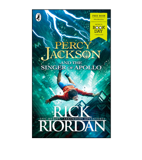 Book cover for Percy Jackson and the Singer of Apollo