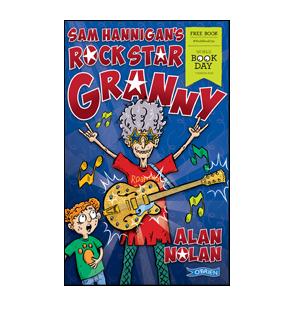 Book cover for Sam Hannigan's Rock Star Granny