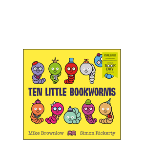 Book cover for Ten Little Bookworms