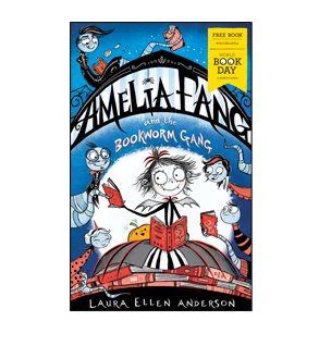 Book cover for Amelia Fang and the Bookworm Gang