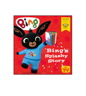 Book cover for Bing's Splashy Story
