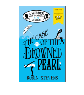 Book cover for The Case of the Drowned Pearl
