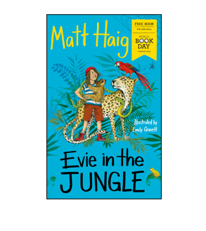 Book cover for Evie in the Jungle