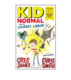 Book cover for Kid Normal and the Loudest Library