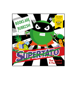 Book cover for Supertato: Books Are Rubbish!