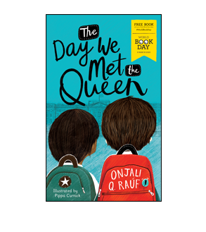 Book cover for The Day We Met the Queen
