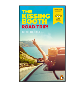 Book cover for The Kissing Booth: Road Trip!