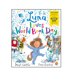Book cover for Luna Loves World Book Day