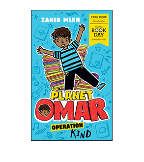 Book cover for Planet Omar: Operation Kind